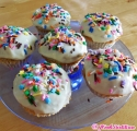 Mini Protein Birthday Cakes