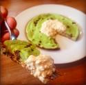 Mint Chocolate Chip Skillet Cake