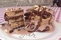 Moose Tracks Inspired Pancakes