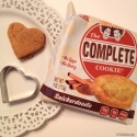 No Bake Heart Protein Cookies