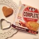 No Bake Heart Protein Cookies