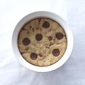 Nutella Stuffed Chocolate Chip Cookie Pie