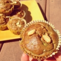 Nuts for Springtime Protein Muffins