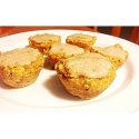 One Minute Pumpkin Spice Muffins
