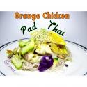 Orange Chicken Pad Thai