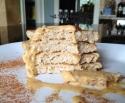 Orange Cinnamon Protein Pancakes