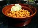 Oven Roasted Spicy Chickpeas