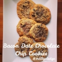 Paleo Bacon Date Chocolate Chip Cookies