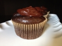 Paleo Dark Chocolate Cupcakes With Chocolate Hazelnut Frosting
