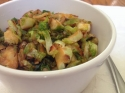 Paleo Honey Sesame Brussels Sprouts