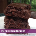 Paleo Zucchini Brownies