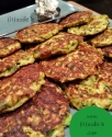 Pan Fried Curry Zucchini Fritters