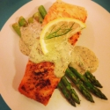 Pan Seared Salmon With a Fennel Lemongrass Sauce