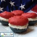 Patriotic Protein Whoopie Pies