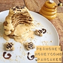 Pb & Honey Honeycomb Pancakes