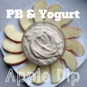 Pb & Yogurt Apple Dip