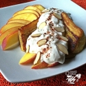 Peaches & Cream Plantain Split