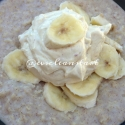 Peanut Butter and Banana Egg White Oats