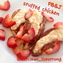 Peanut Butter and Jelly Stuffed Chicken