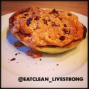 Peanut Butter Chocolate Chip Cake In a Kabocha Squash