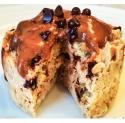 Peanut Butter Chocolate Chip Protein Mug Cake
