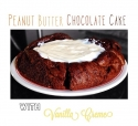 Peanut Butter Chocolate Protein Cake