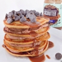 Peanut Butter Chocolate Protein Pancakes