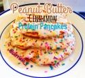 Peanut Butter Cinnamon Protein Pancakes