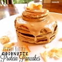 Peanut Butter Coconutty Pancakes