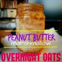 Peanut Butter Marshmallow Overnight Oats
