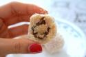 Peanut Butter-Stuffed Fig Protein Balls