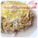 Pina Colada Flooded Oatmeal Bake