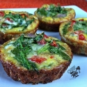 Plantain-Crusted Egg Muffins
