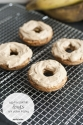 Plantain Donut With Protein Frosting