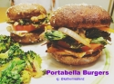 Portabella Mushroom Buns With Turkey and Kale Chips