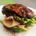 Portobello Turkey and Avocado