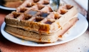 Protein Coconut Waffles