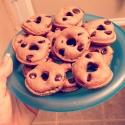 Protein Dark Chocolate Oat Mini Donuts