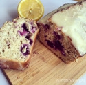 Protein Lemon and Blueberry Loaf