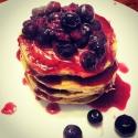 Protein Powder-Less Protein Pancakes