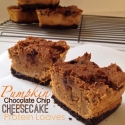 Pumpkin Chocolate Chip Cheesecake Protein Loaves