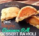 Pumpkin Cinnamon Roll Dessert Ravioli