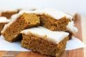 Pumpkin Protein Bars Dairy Free No Sugar Frosting