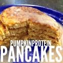 Pumpkin Protein Pankcakes