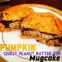Pumpkin Quest Peanut Butter Cup Mugcake