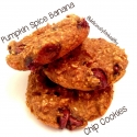 Pumpkin Spice Banana Chip Cookies