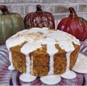 Pumpkin Spice Coffee (Oat) Cake