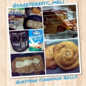 Questbar Cinnamon Rolls