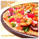 Quinoa Crust Pizza With Spicy Cajun Shrimp