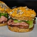 Quinoa Oat Cheese Buns  Trukey Burger